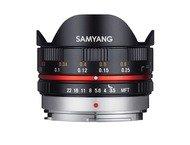 Samyang 7.5mm f/3.5 UMC Micro 4/3 Zwart