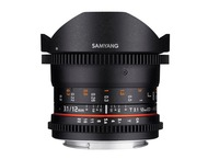 Samyang 12mm T3.1 VDSLR Fisheye Nikon