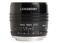 Lensbaby Velvet 56 - Nikon - zwart