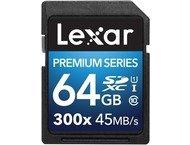 Lexar SDXC Premium UHS-1 300x 64GB