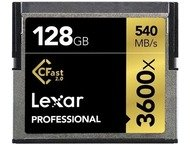 Lexar CFast 2.0 Professional 3600x 128GB