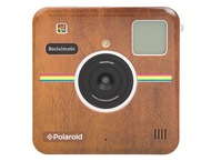 Polaroid Socialmatic Face Plate Brown Leather Matte