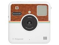 Polaroid Socialmatic Sticker Brown Leather Matte