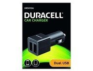 Duracell 12V twin auto lader (5V/2,4A)