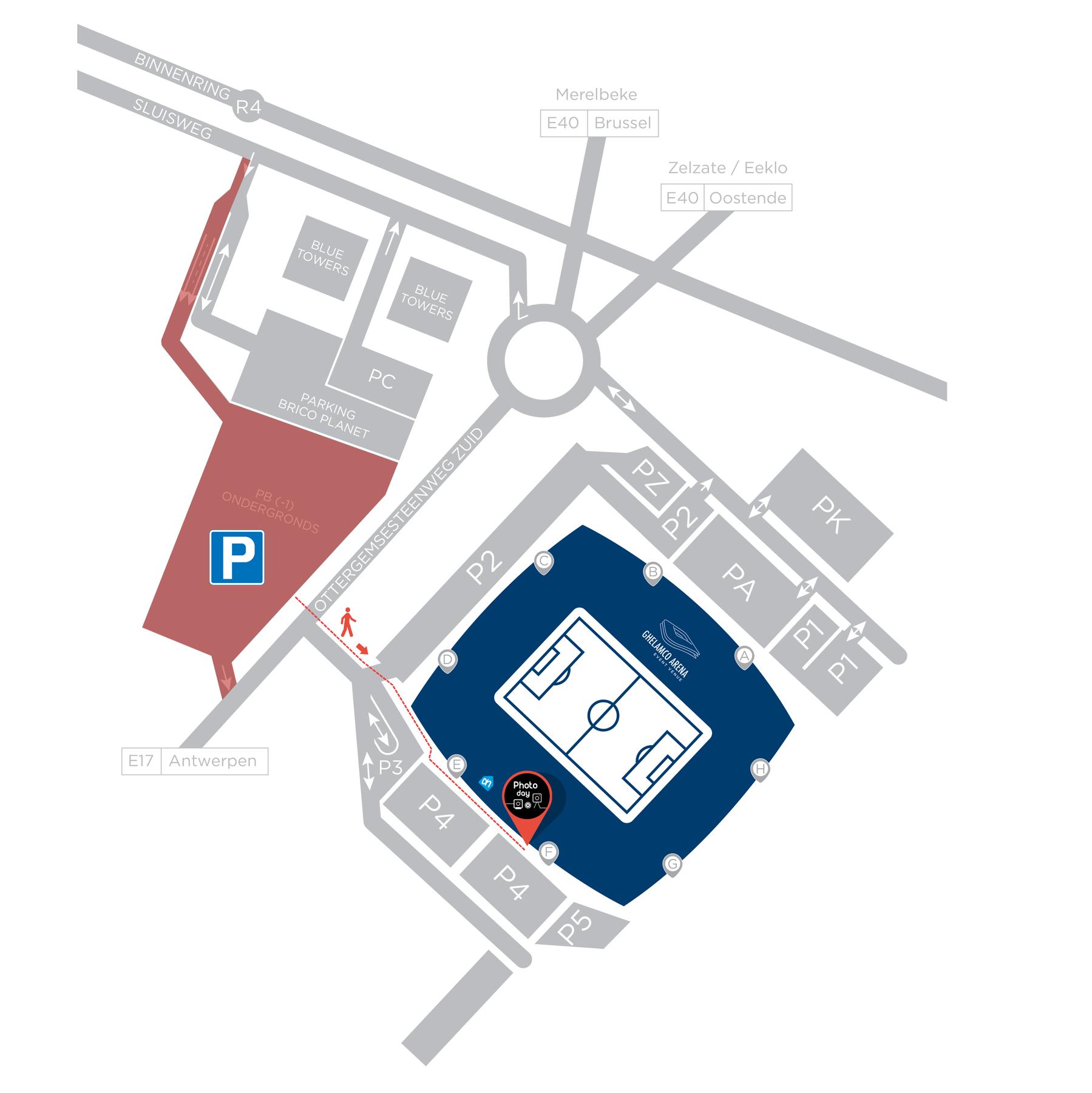 Locatie  Parking