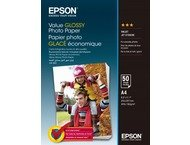 Epson Value Glossy Photo Paper A 4, 50 vel, 183 g S400036