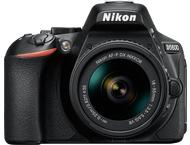 Nikon D5600 Body + 18-55mm - Zwart
