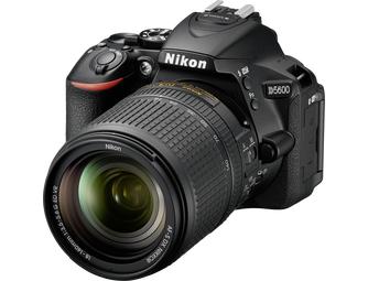 Nikon D5600 Body + 18-140mm - Zwart