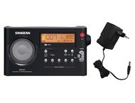 Sangean PR-D7, draagbare radio, incl. adapter, zwart