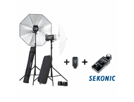 Elinchrom Bundle ELC500/500 set incl. Sekonic L478DR-EL