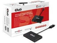 Club 3D MST HUB 1xDP 3xHDMI AC POWERED