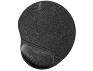 Gembird MP-GEL-BLACK Mouse pad with Gel wrist rest black