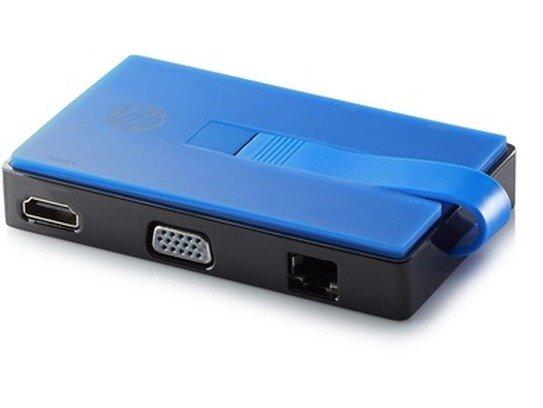 HP USB-A Travel Dock - Met een USB-A uitgang uitbreiding