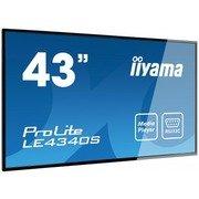 iiyama 43iWIDE LCD 1920x1080 AMVA3 panel LED Bl. Fan-less