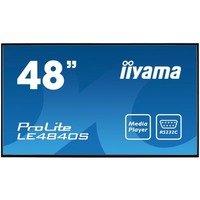 iiyama 48iWIDE LCD 1920x1080 SVA panel LED Bl.Fan-less