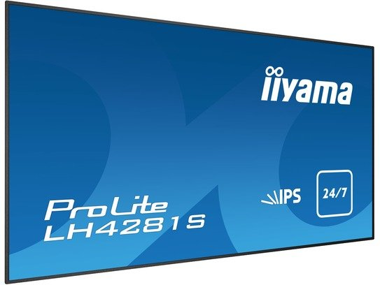 iiyama 42i 10p Touch LCD. 1920 x 1080. IPS LED. Speakers