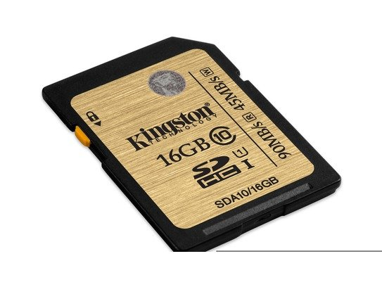 Kingston SDA10/16GB 16GB SDHC Class 10 UHS-I Ultimate Flash