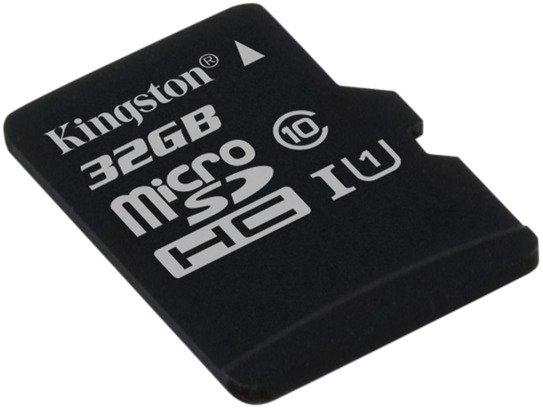 Kingston 32GB microSDHC Class 10 UHS-I 45R FlashCard Single