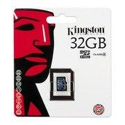 Kingston SDC4/32GBSP 32GB microSDHC Class 4 Flash Card