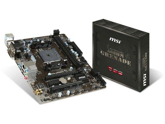 MSI Moederbord AMD FM2+ A68HM GRENADE