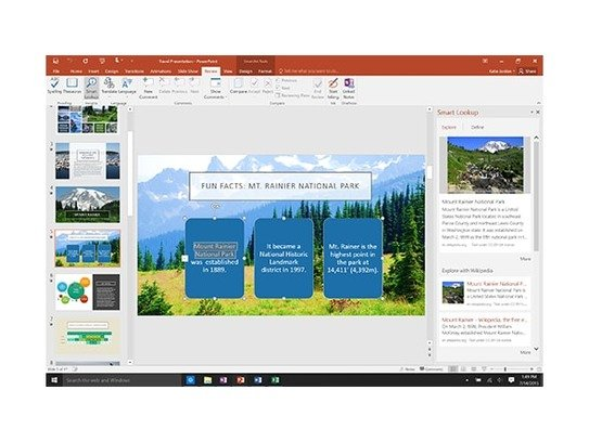 Microsoft Office 2016 Home and Student (FR)
