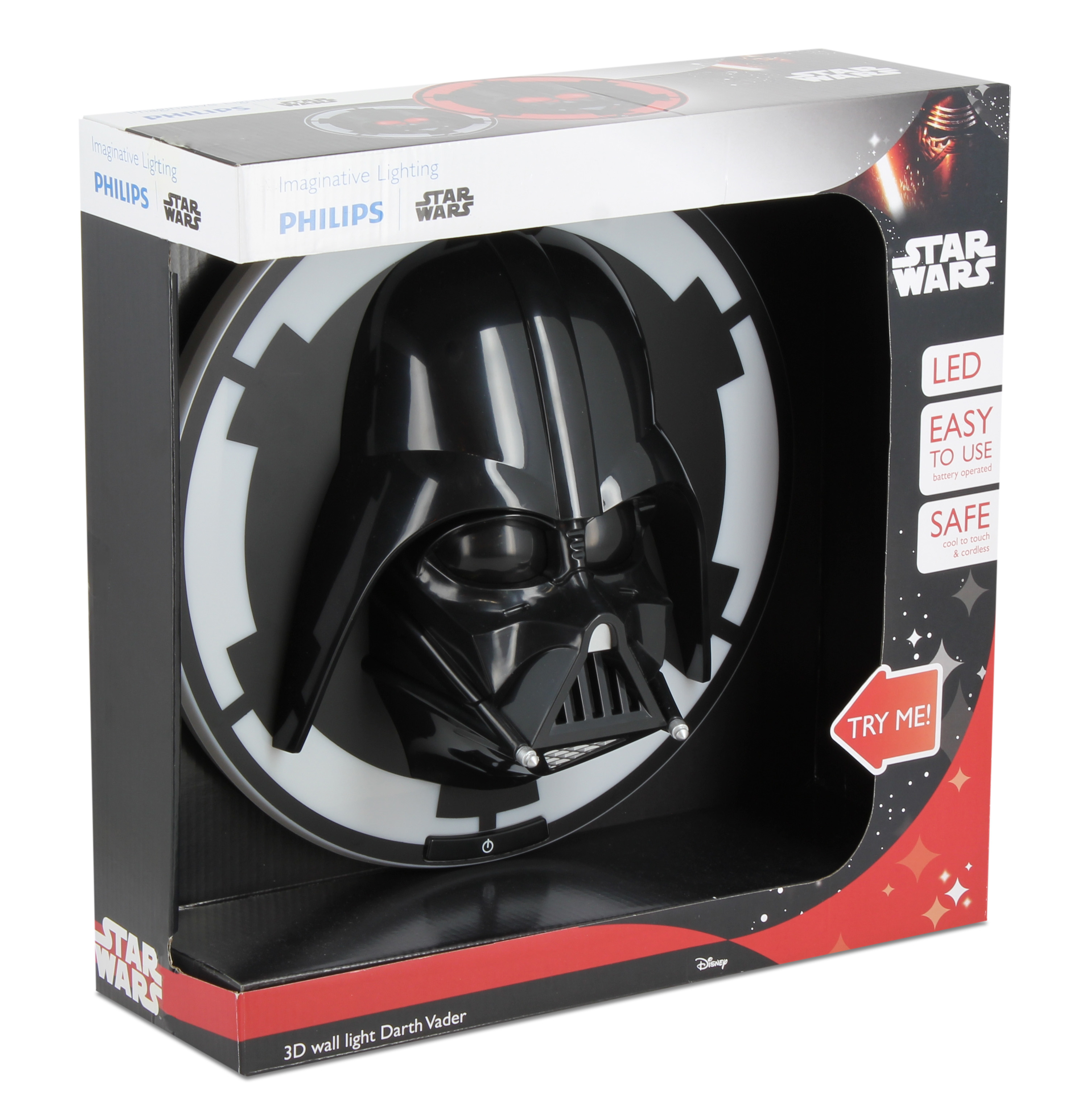 Philips Murale Darth Vader 3d Star Led Lampe Wars QdCrhts