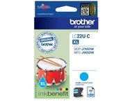 Brother LC-22UC Cyan Ink for DCP-J785DW (1200 pages)