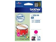 Brother LC-22UM Magenta Ink for DCP-J785DW (1200 pages)