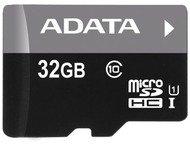 Adata MicroSD Class10 32GB with Micro Reader Black