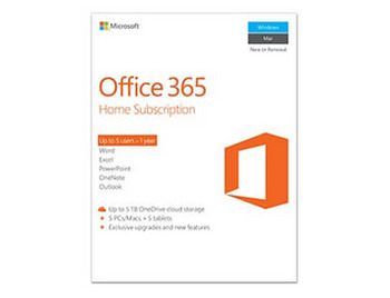 Microsoft Off 365 Home French 1YR