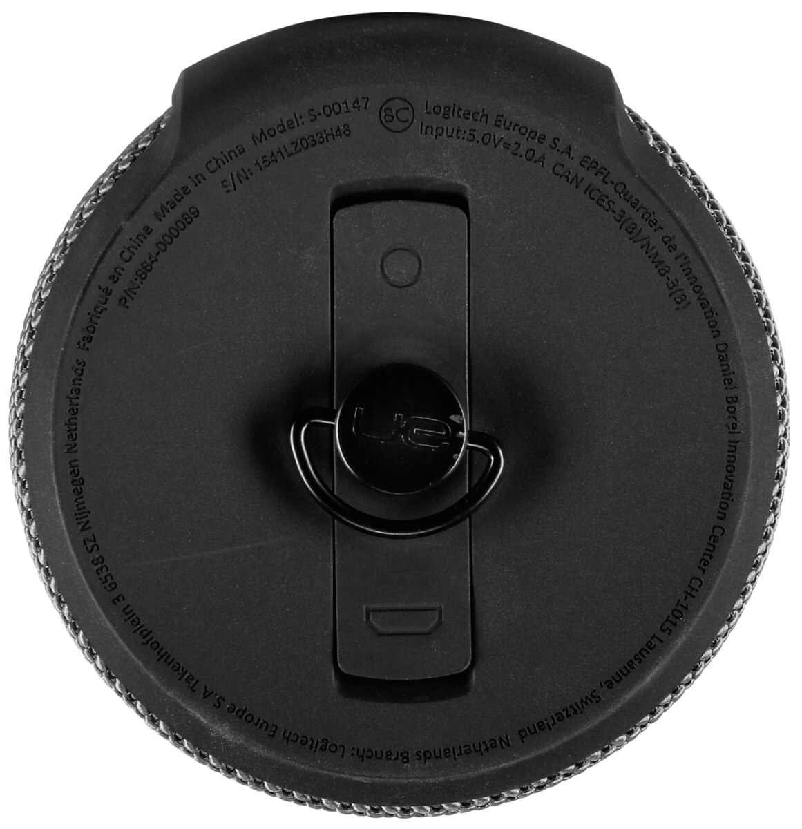 Ultimate Ears Megaboom Charcoal Black Art Craft Plum