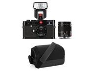 Leica M (typ 262) Body + 35mm + 75mm - Zwart