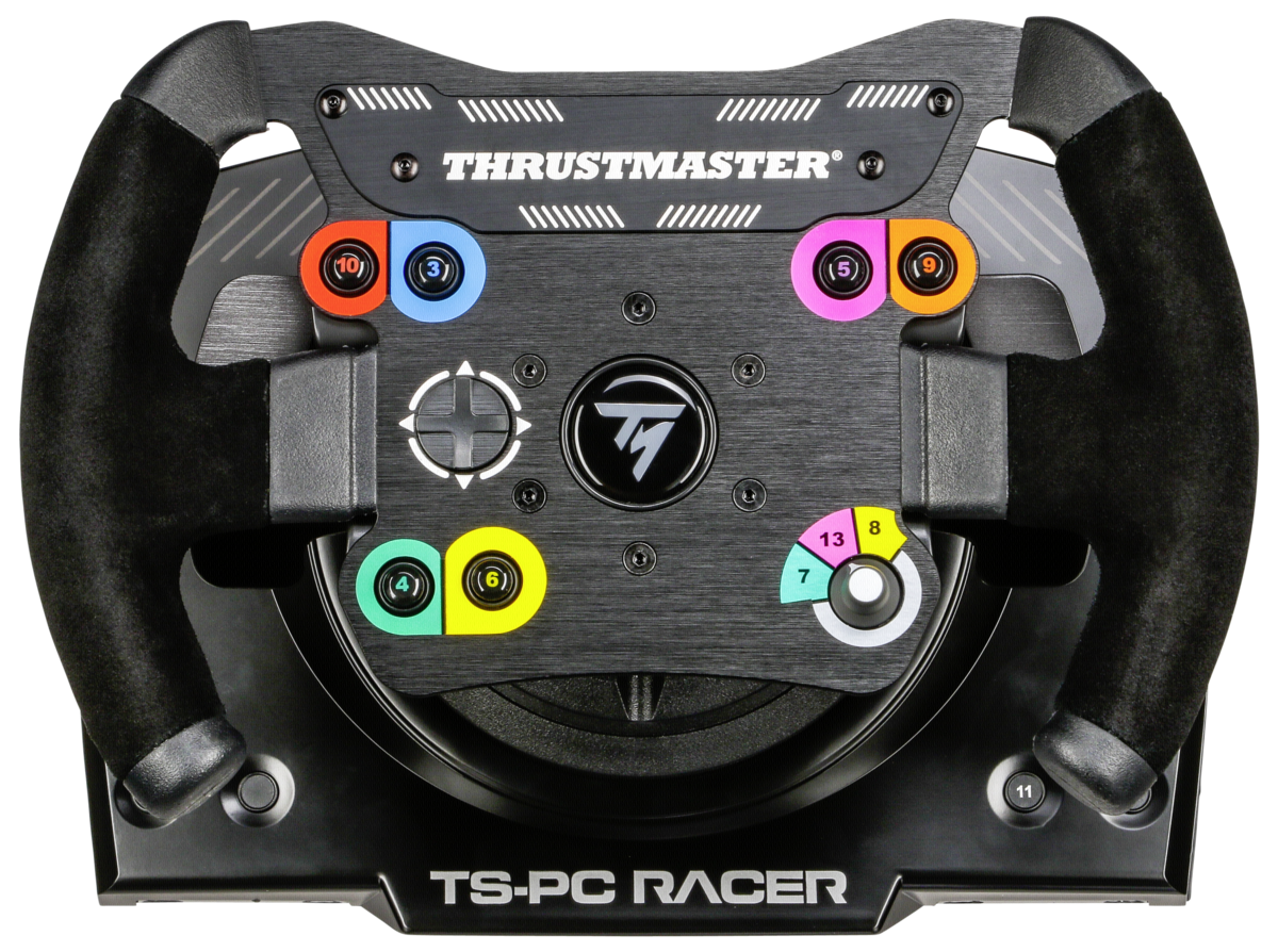 thrustmaster ts pc racer racing wheel art craft. Black Bedroom Furniture Sets. Home Design Ideas