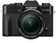 Fujifilm X-T20 Body + 18-55mm - Zwart