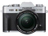 Fujifilm X-T20 Body + 18-55mm - Zilver