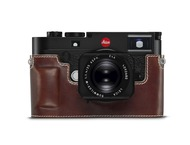 Leica M10 Protector leather, vintage braun