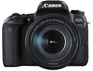 Canon EOS 77D Body + 18-135mm - Zwart