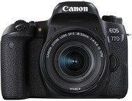 Canon EOS 77D Body + 18-55mm - Zwart