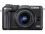 Canon EOS M6 Body + 15-45mm - Zwart