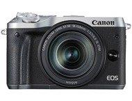 Canon EOS M6 Body + 18-150mm - Zilver