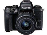 Canon EOS M5 Body + 15-45mm - Zwart