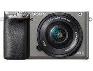 Sony A6000 Boîtier + 16-50mm - Gris