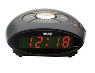 Nikkei Wekker Digitaal Snooze AR10 Zwart