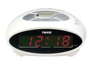 Nikkei Wekker Digitaal Snooze NR10WE Wit