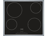 Bosch Kookplaat Vitro 60cm Inox Kader PKE645FP1E
