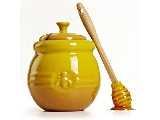 Le Creuset Pot à Miel Spatule Jaune Art Craft