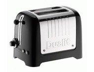 Dualit DU26225 2 Lite PeekPop / BagelDefrost Gloss Black