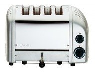 Dualit DU47042 4 Slot New Gen Metallic Silver