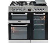 Leisure CS90F320X Fornuis gemengd gas/elektrische oven Inox