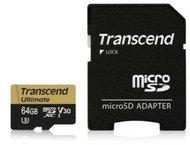 Transcend microSDXC 64GB UHS-I MLC U3M +SD Adapter